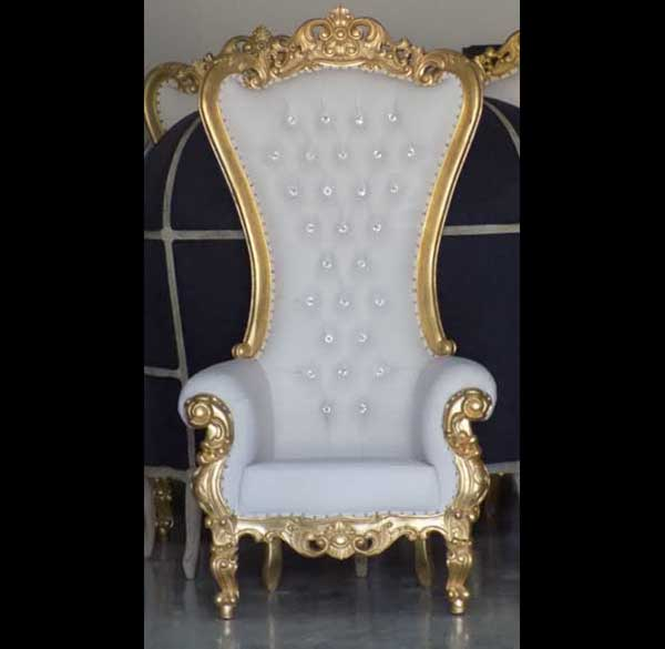 Party Perfect Rentals Red And Gold Throne Party Furniture
