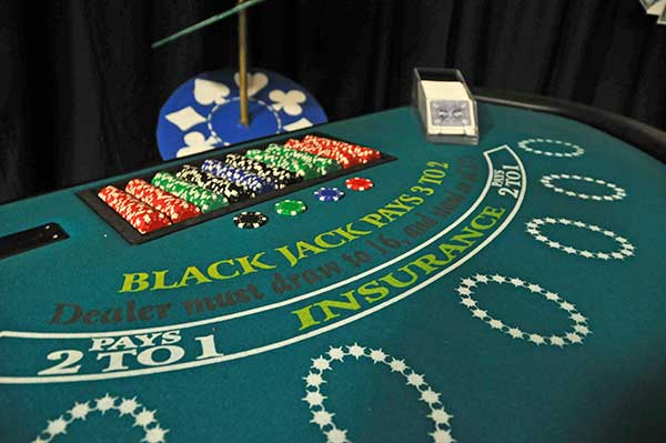 Blackjack Casino Rentals