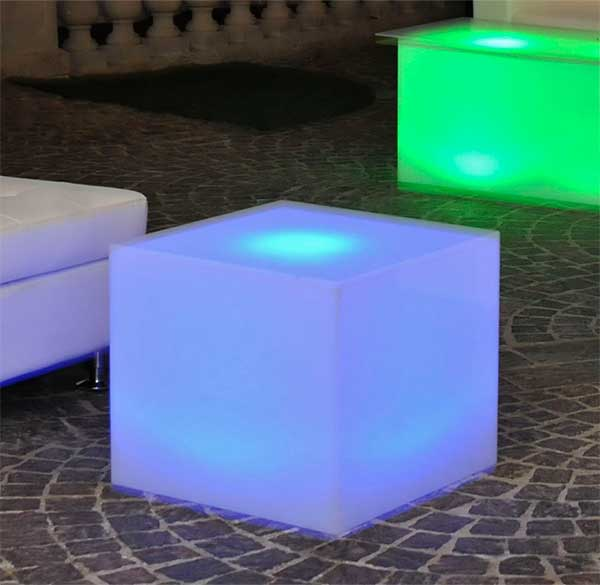 Party Perfect Rentals - LED Cube