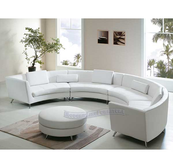 Party Perfect Rentals - Extra Long Curved Sectional Sofa