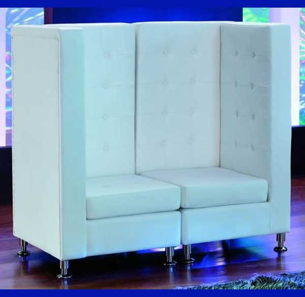 Party Perfect Rentals - High Back Love Seat