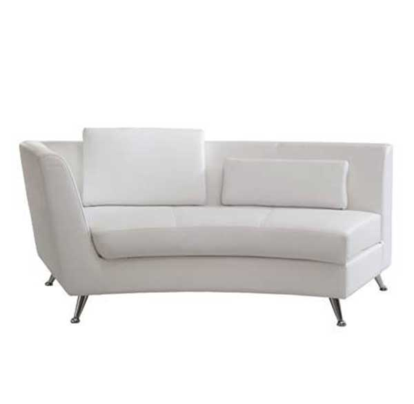 Party Perfect Rentals - Left-Sided Curved Chaise